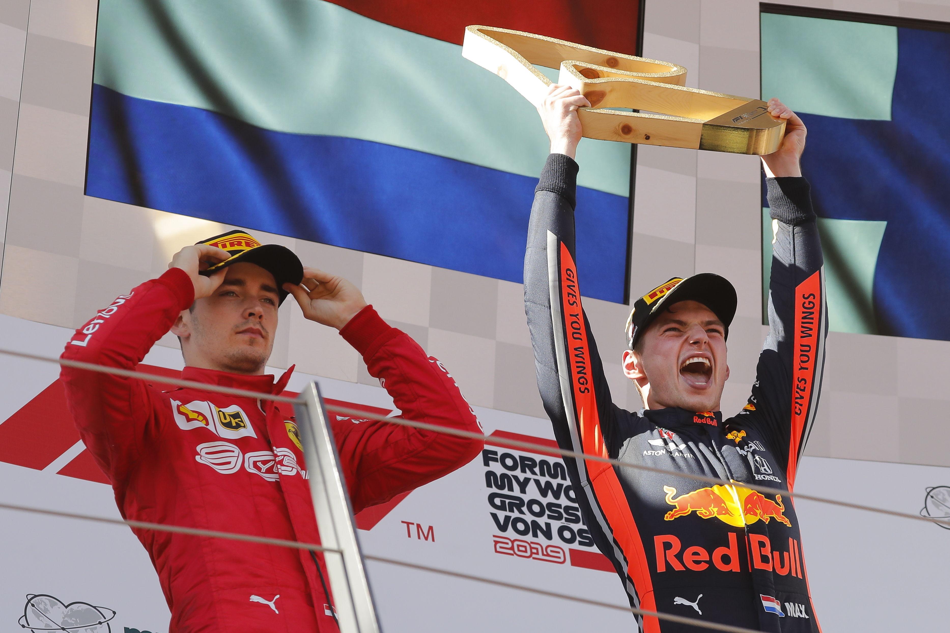 Max Verstappen se queda de forma polémica con el GP de Austria