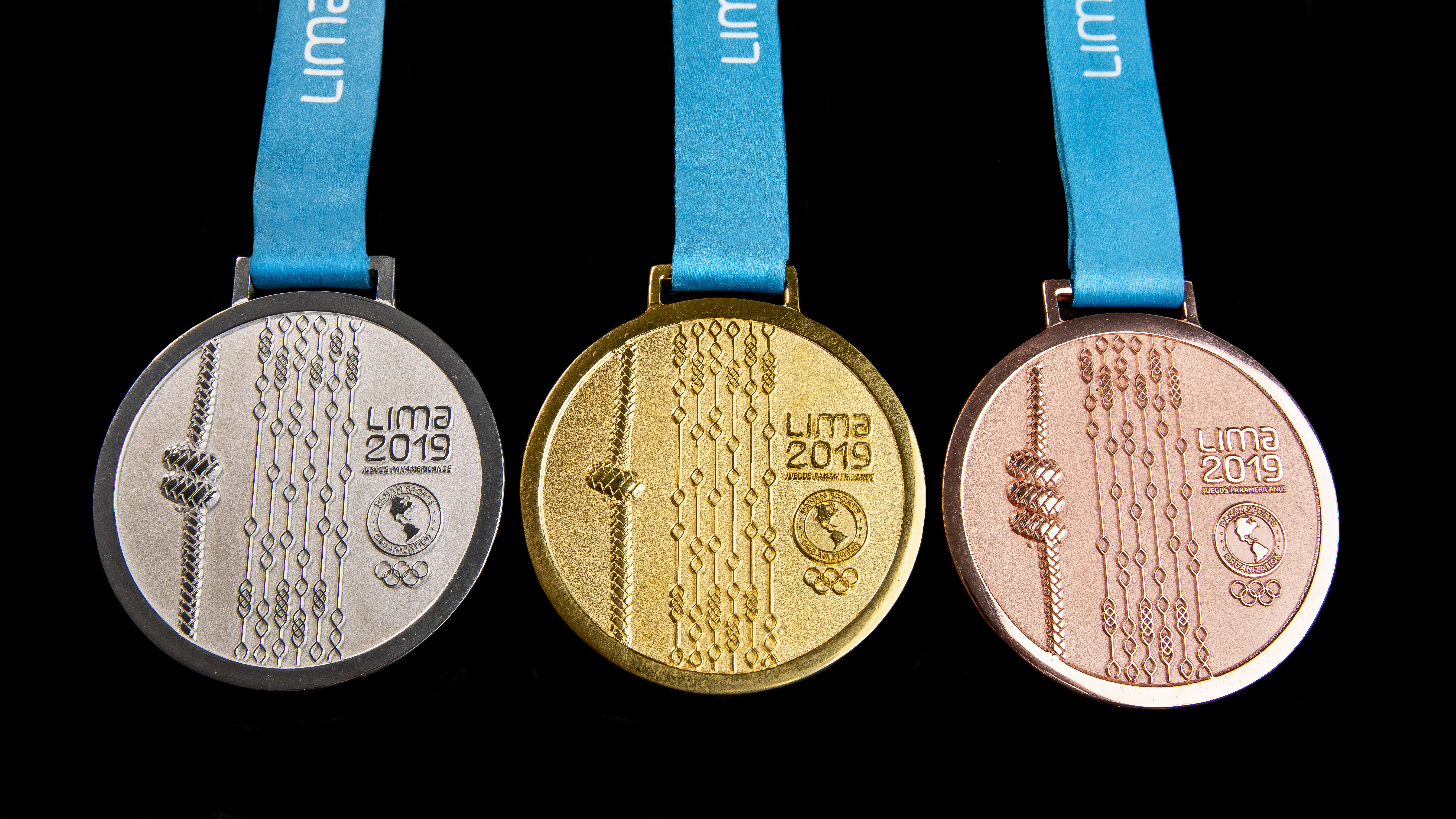 Estos son los detalles que llevarán las medallas en los Juegos Panamericanos
