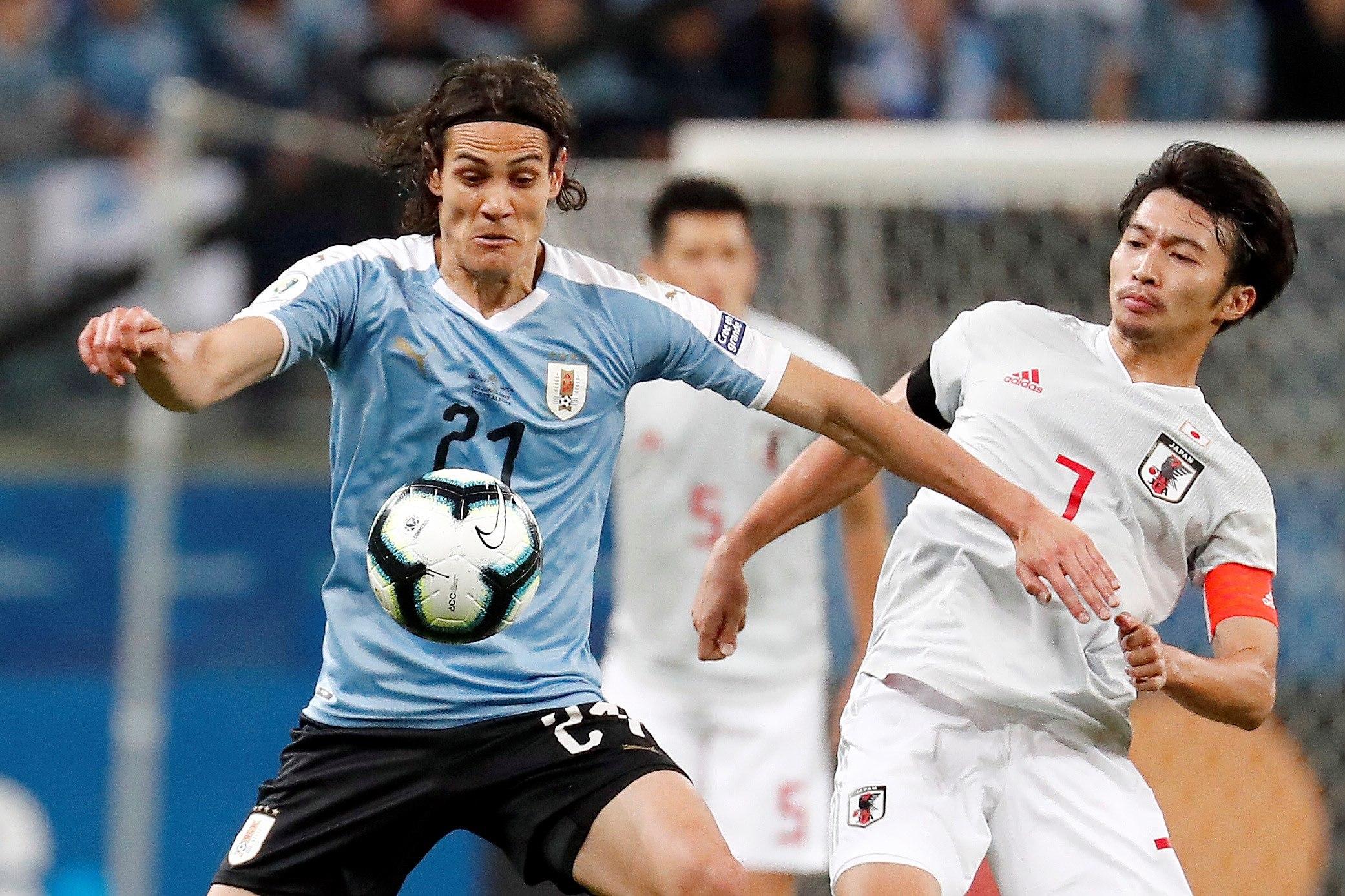 Copa América: Japón dio la sorpresa y empató con Uruguay