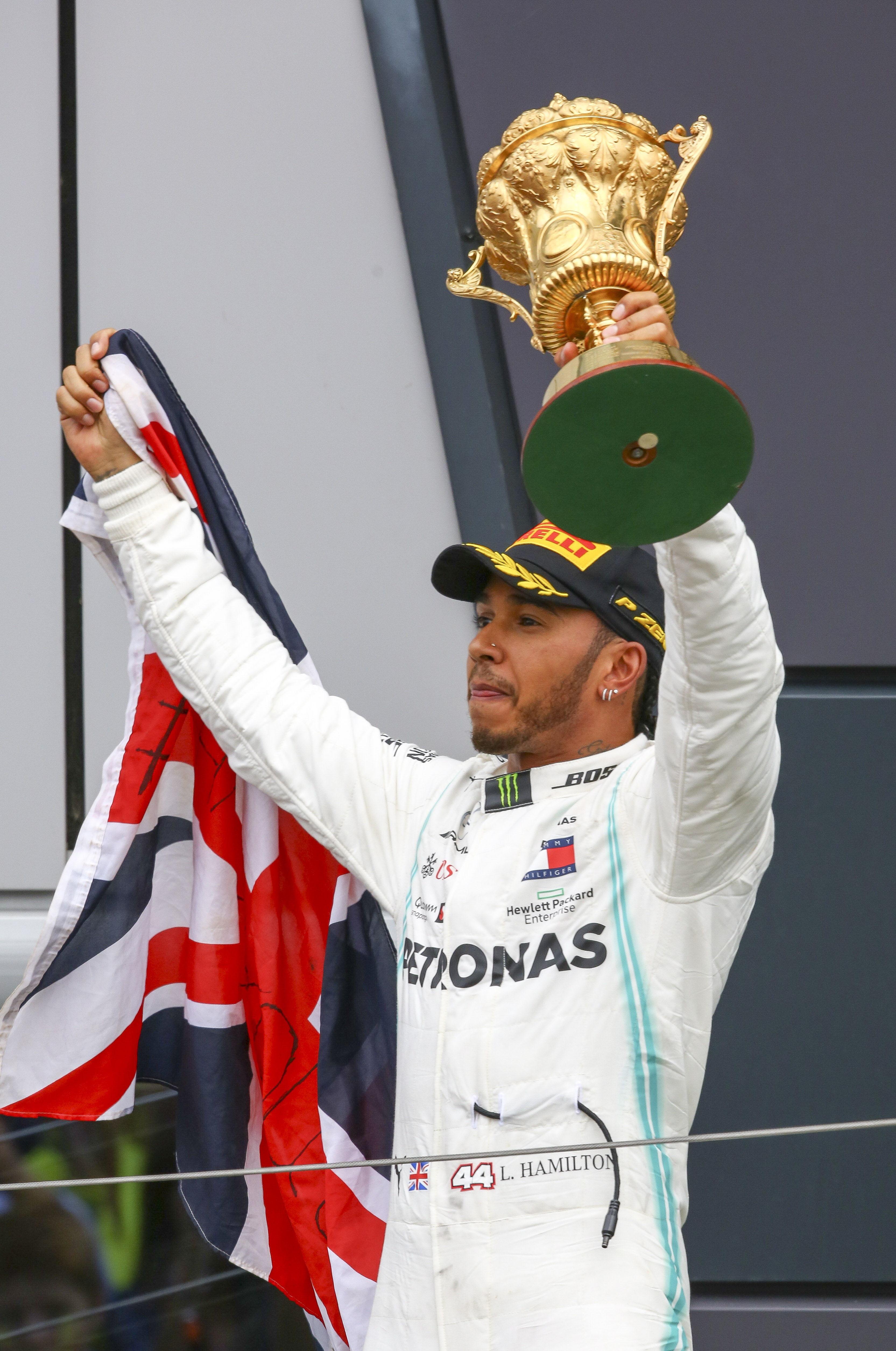 Lewis Hamilton se queda con el GP de Gran Bretaña