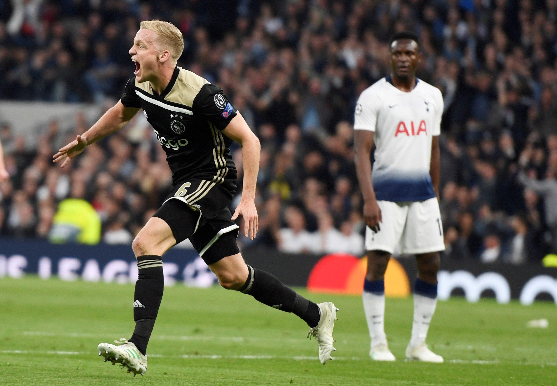 Champions League: El Ajax se acerca a la final