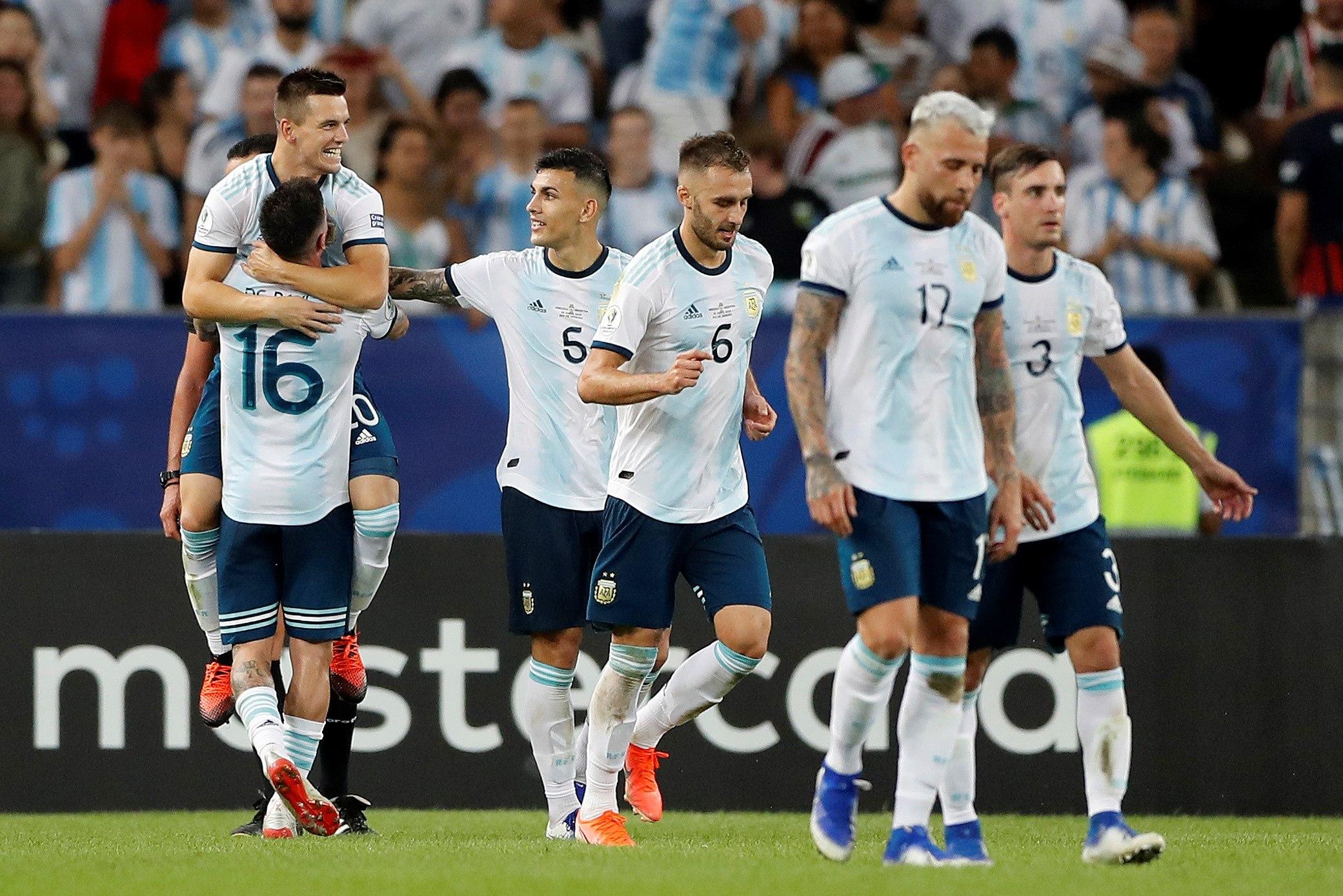 Copa América: Argentina clasifica a semifinales y habrá clásico sudamericano
