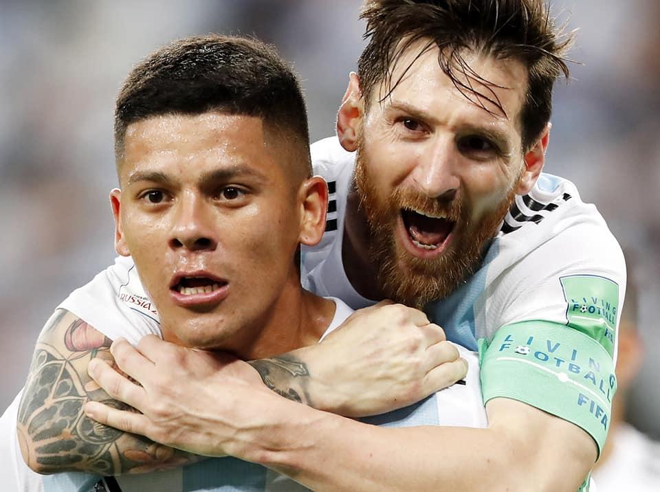 Rusia 2018: Francia y Dinamarca avanzan; Argentina clasifica sobre la hora
