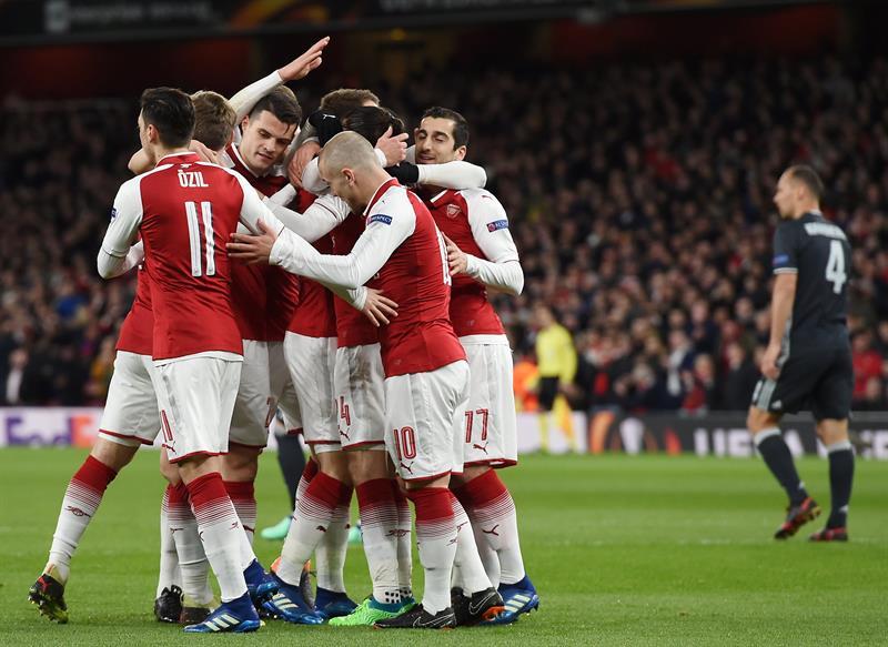 Europa League: Arsenal saca una importante ventaja ante CSKA