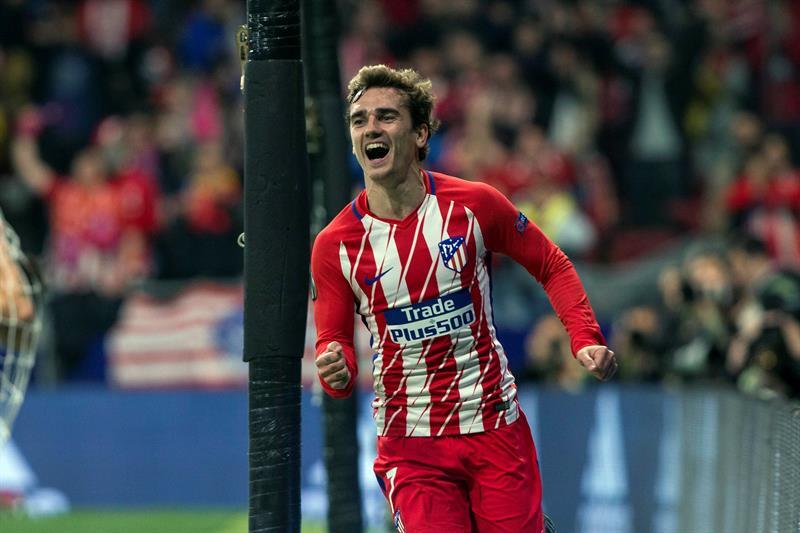 Europa League: Atlético Madrid consiguió un importante triunfo