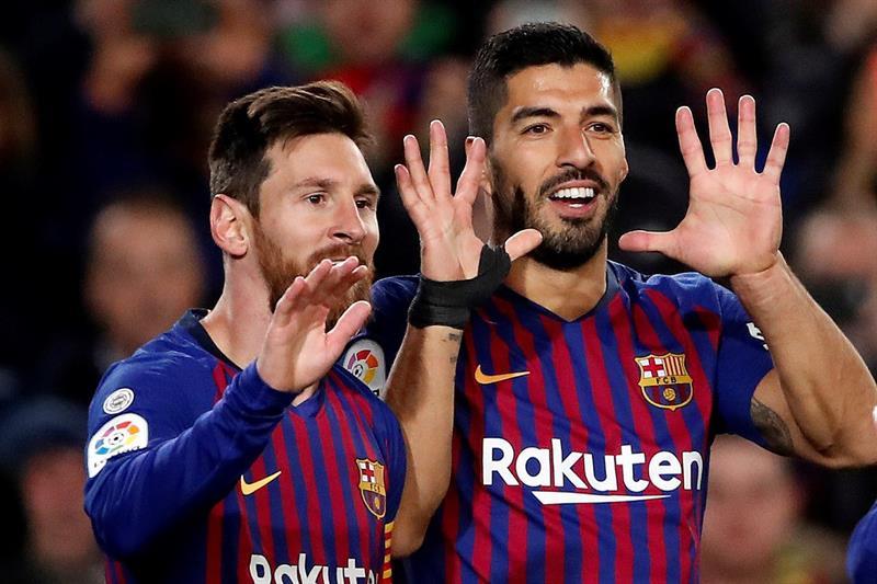 La Liga: Barcelona sigue líder de la mano de Messi y Suárez
