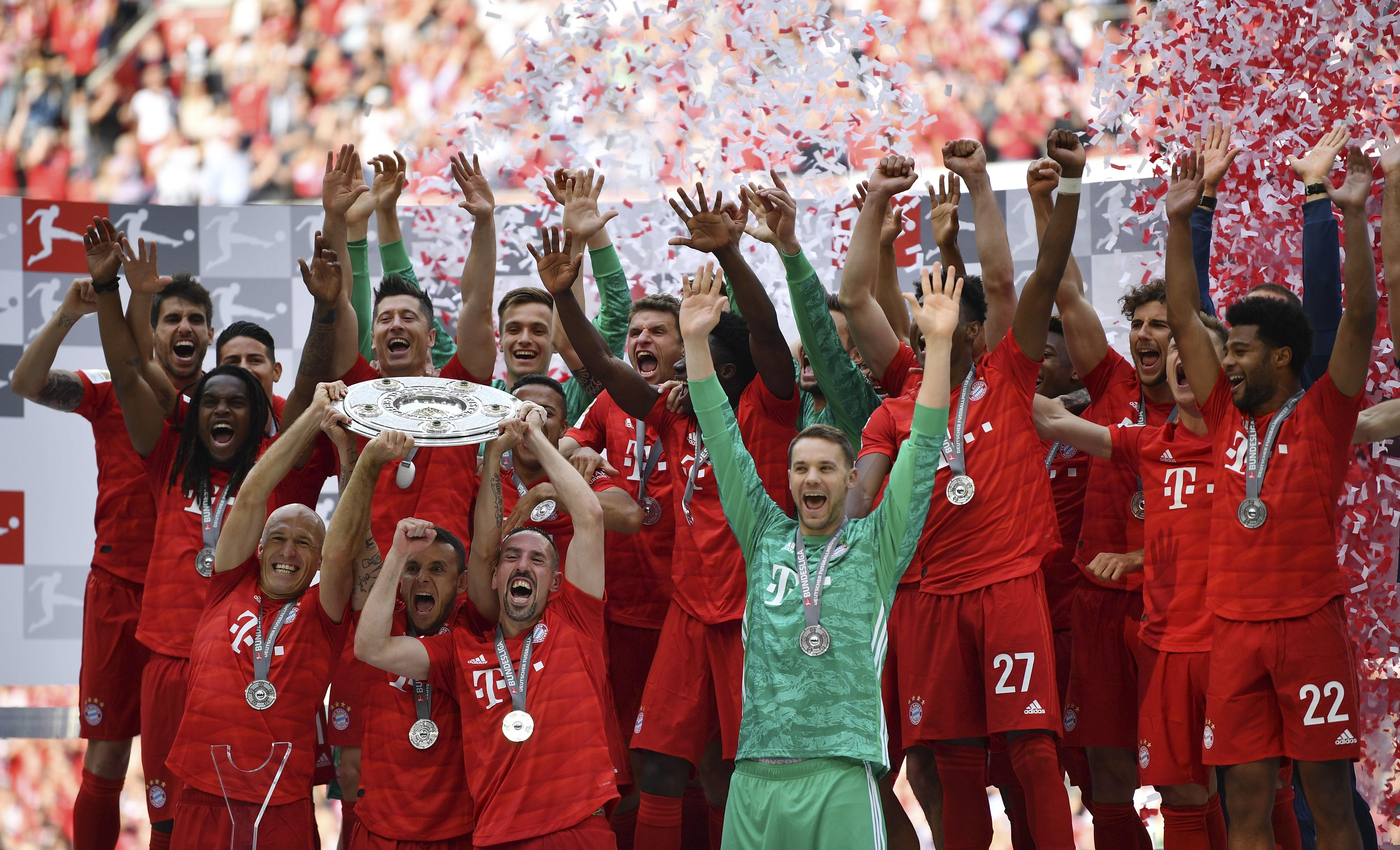 Bundesliga: Bayern es campeón por séptima vez consecutiva