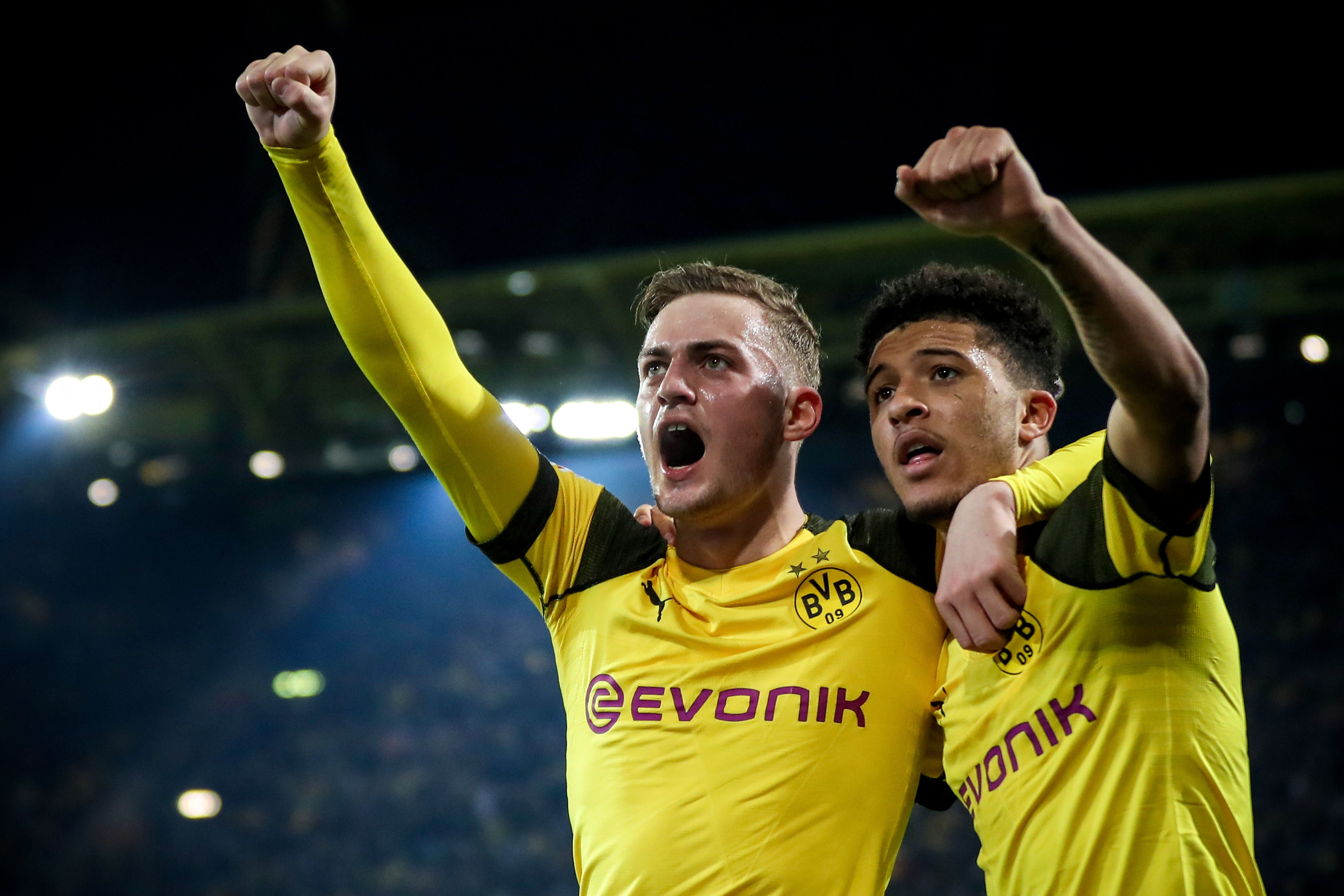 Bundesliga: Borussia Dortmund ganó con angustia y mantiene la punta de la Bundesliga