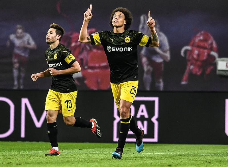 Bundesliga: Borussia Dortmund tuvo más alas que RB Leipzig y sigue en la punta