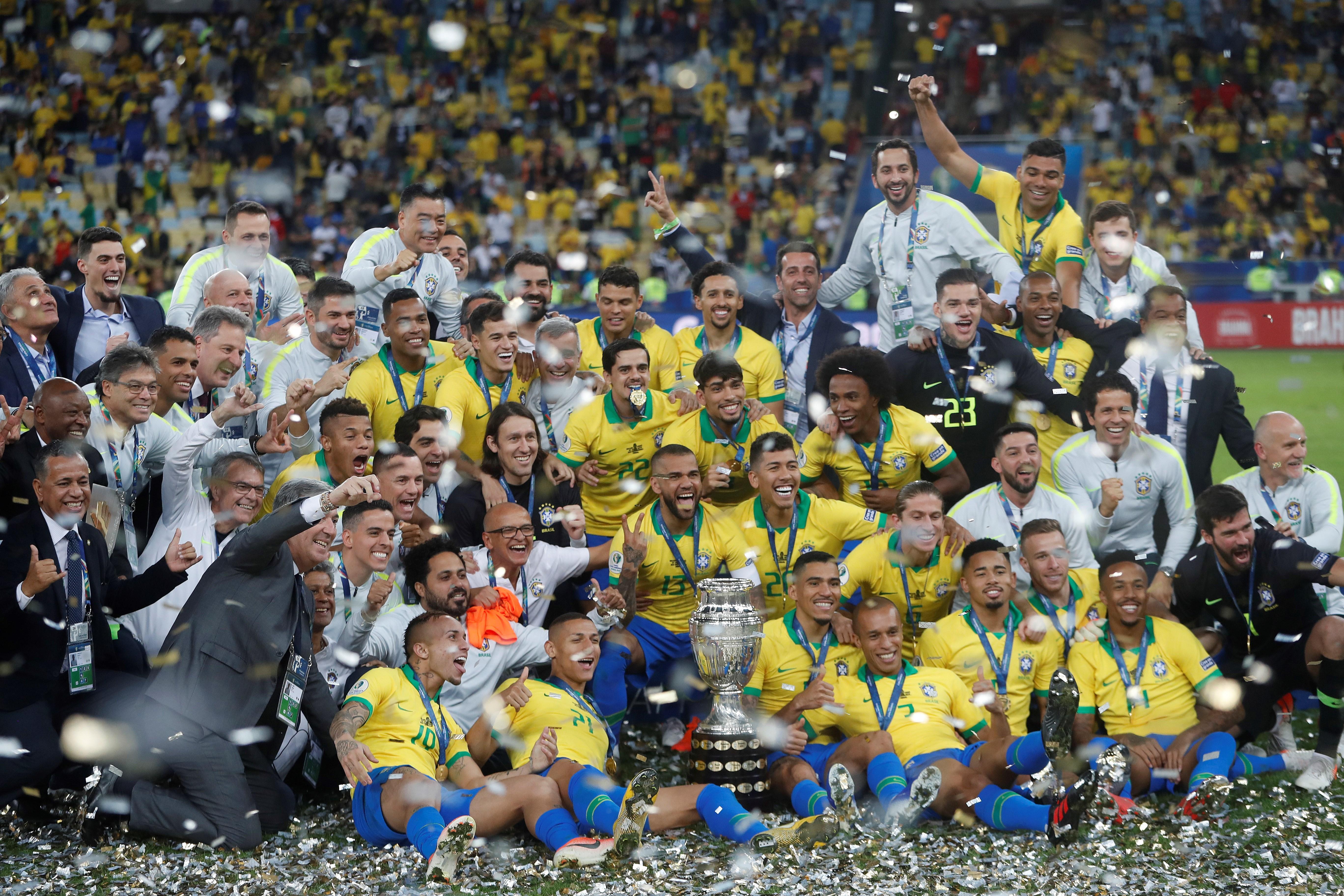 Brasil es el campeón de América