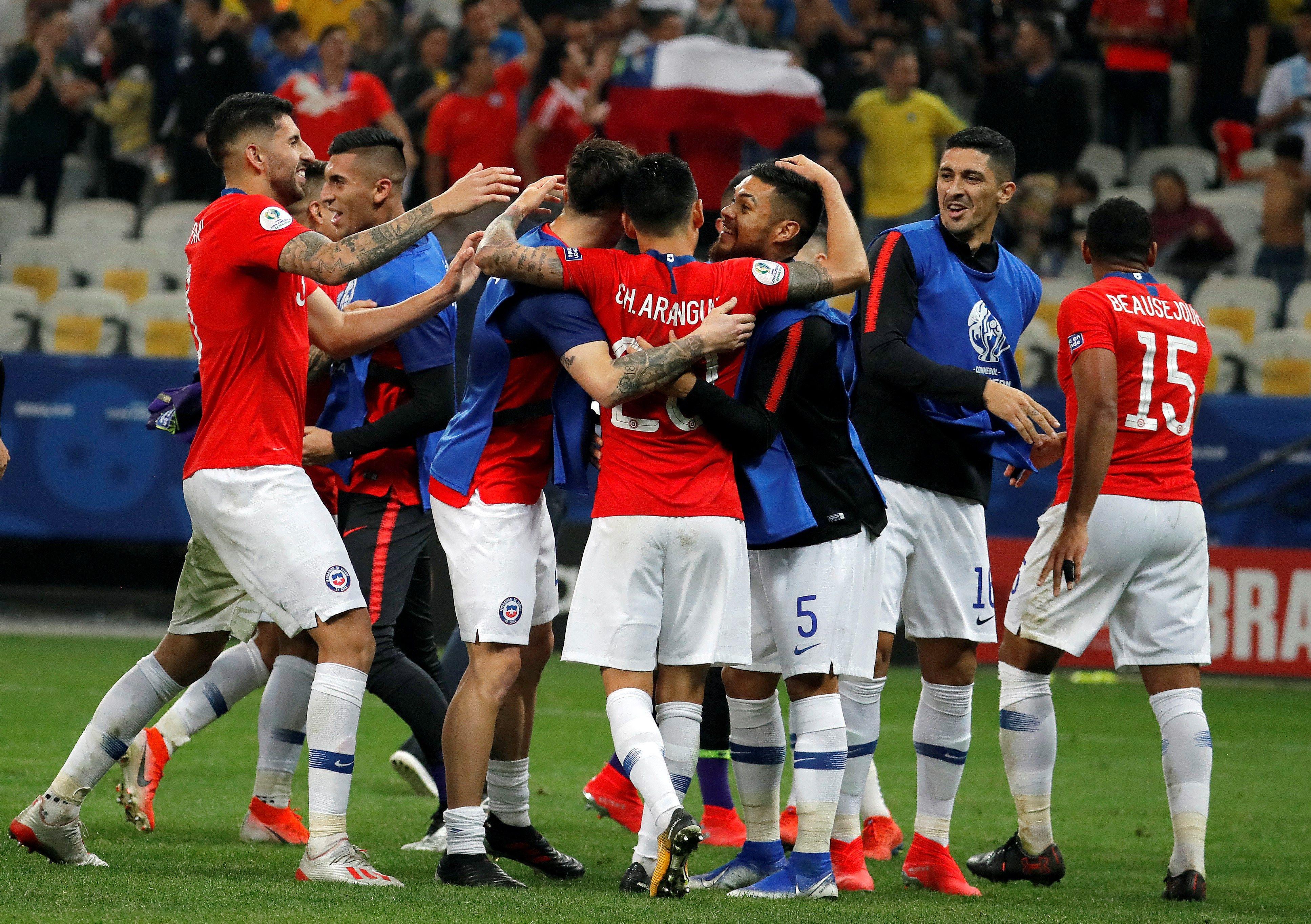 Copa América: Chile vuelve a semifinales por tercera edición consecutiva
