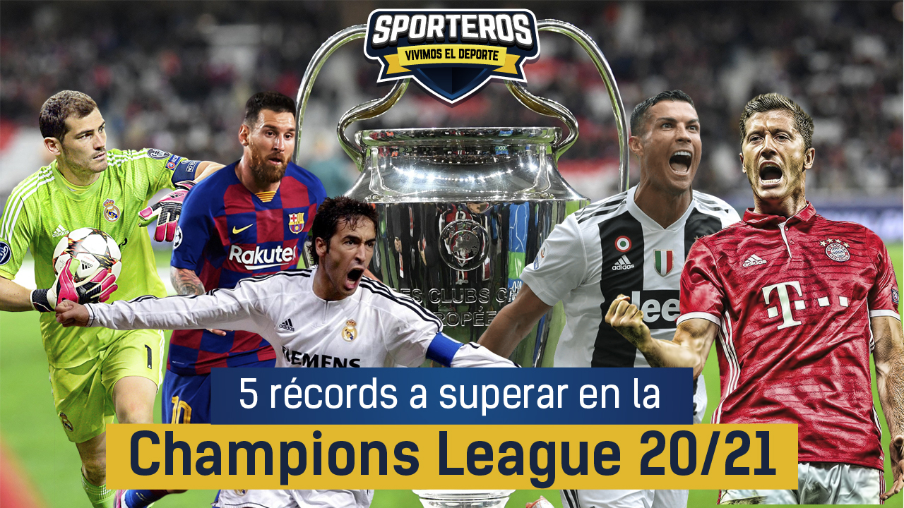VIDEO: Cinco 5️⃣ récords a superar en la Champions League 20-21 🏆⚽