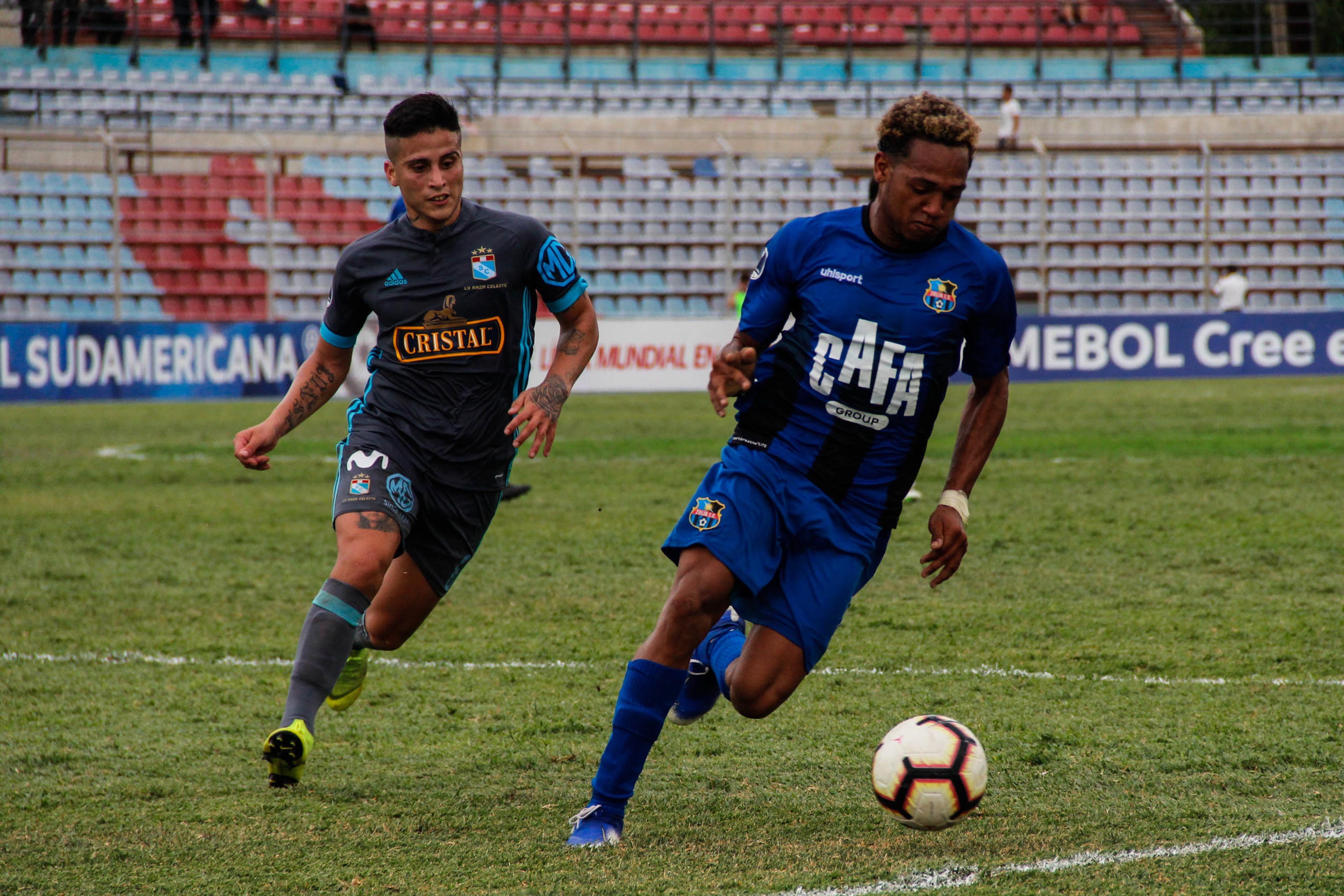 Copa Sudamericana: Zulia sorprende al Sporting Cristal y se adelanta en la llave