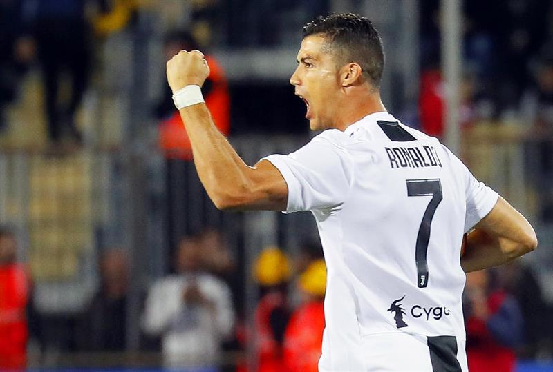 Serie A: Juventus sigue líder con un doblete de Cristiano