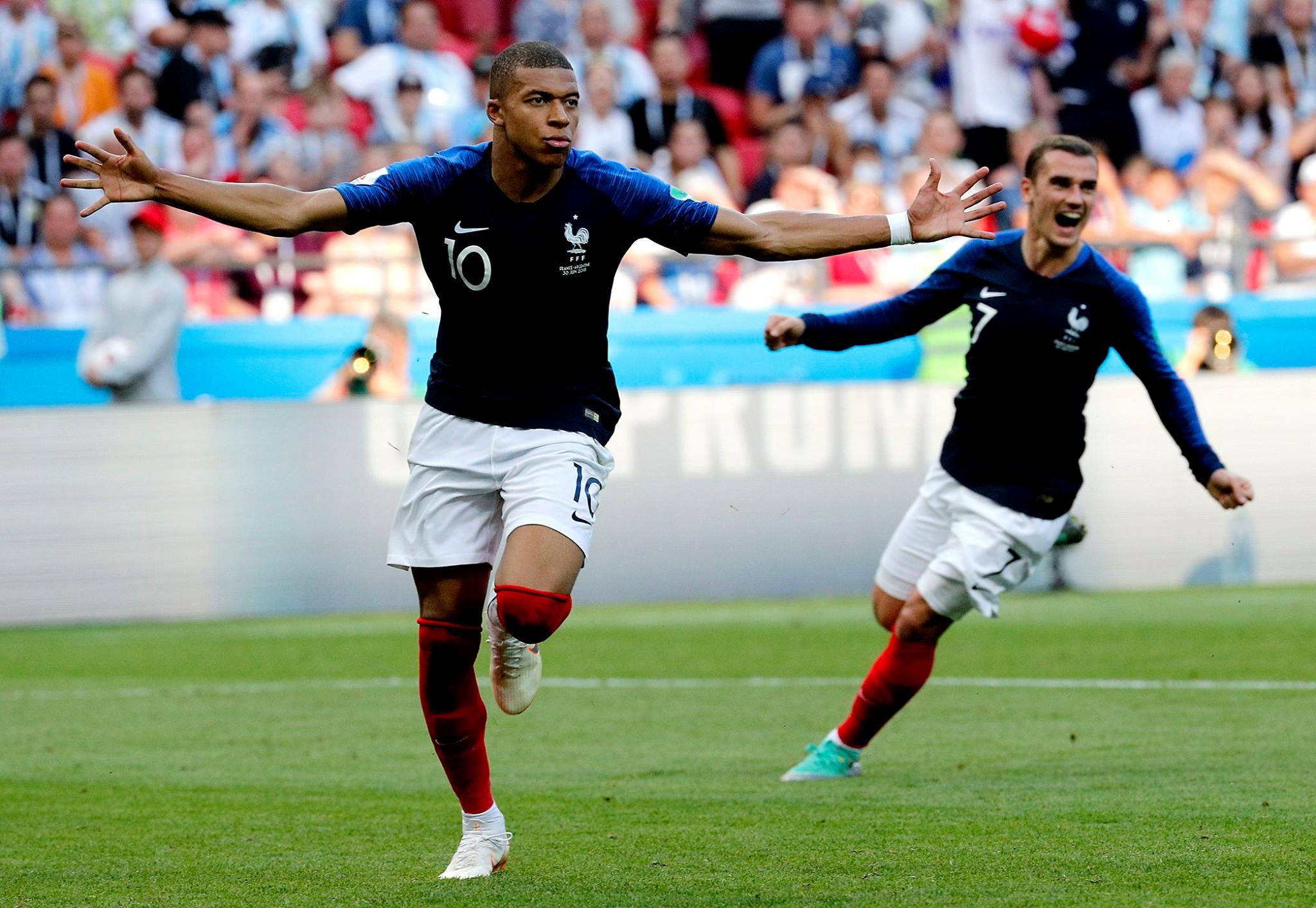 Rusia 2018: Francia y Uruguay a cuartos de final, Argentina y Portugal eliminados