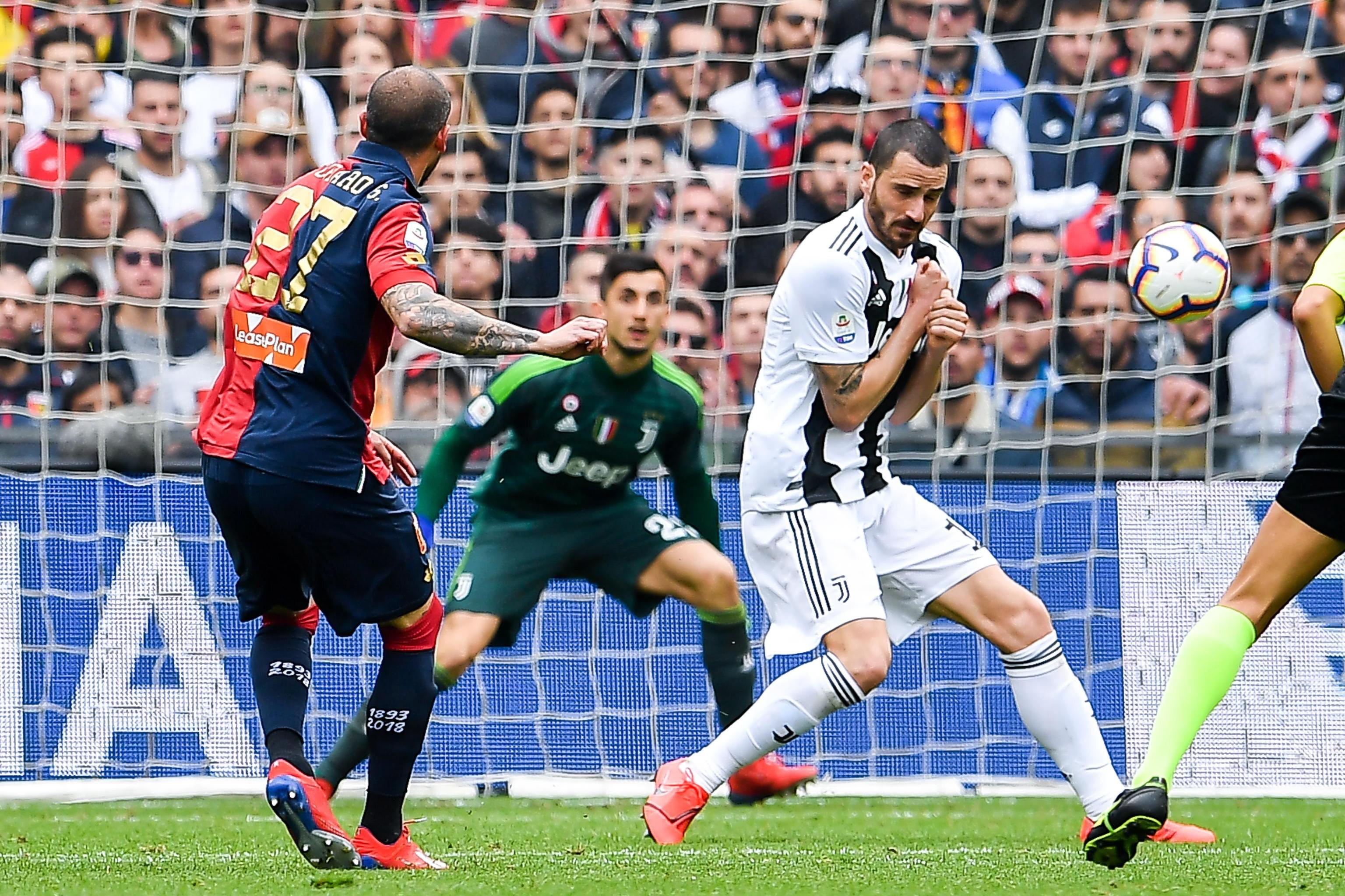 Serie A: Juventus cayó ante Genoa y perdió su invicto