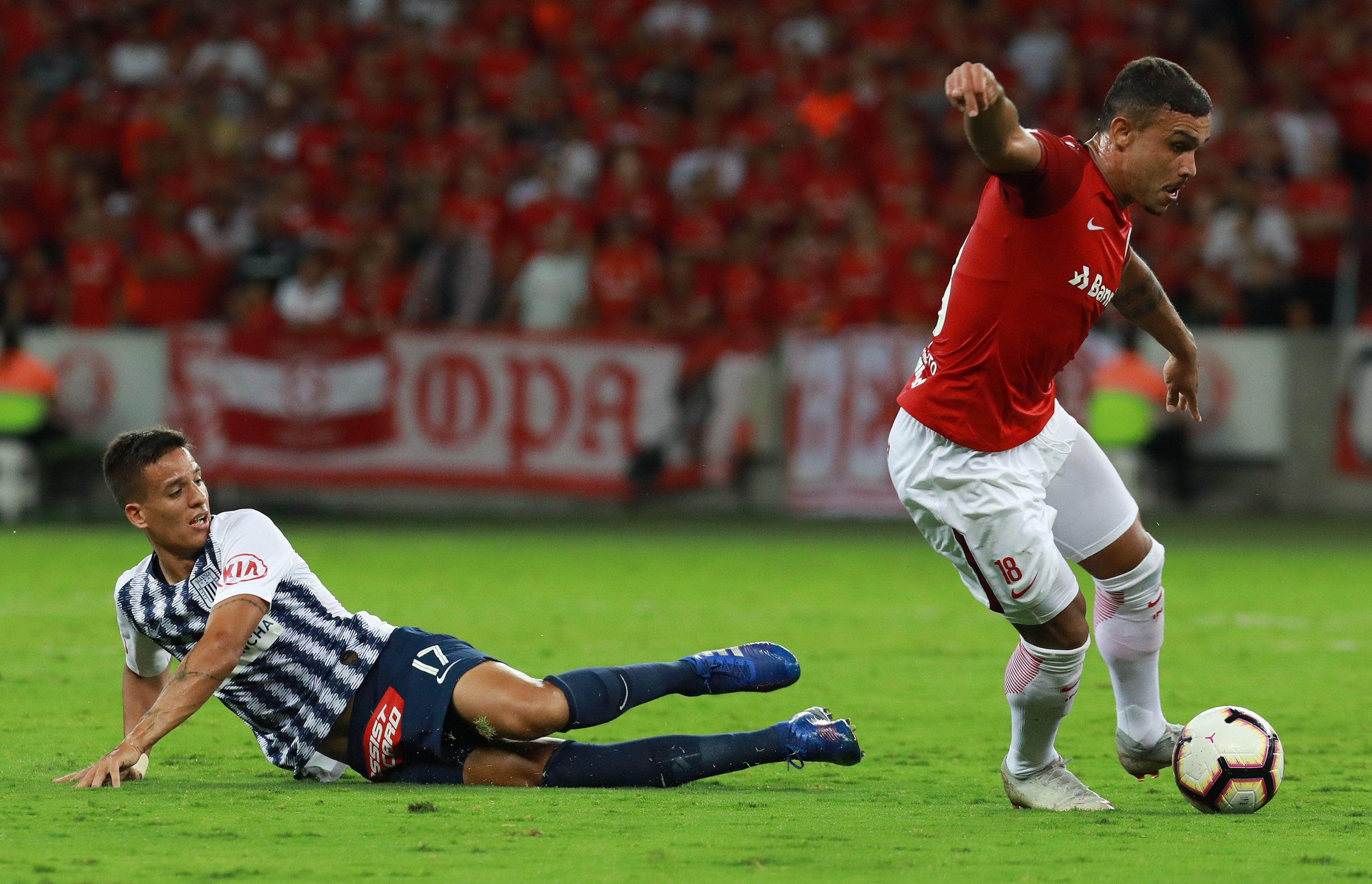 Libertadores: Alianza Lima cayó derrotado ante Inter de Porto Alegre