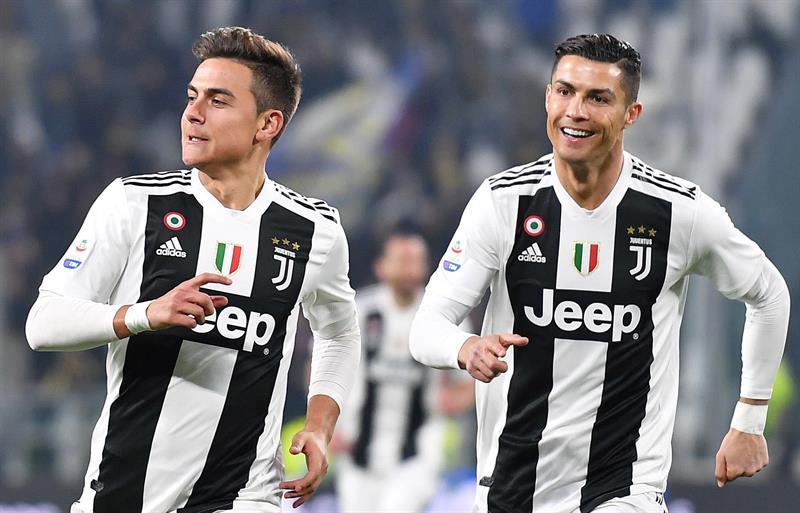 Serie A: Juventus gana con gran actuación de Cristiano y Dybala