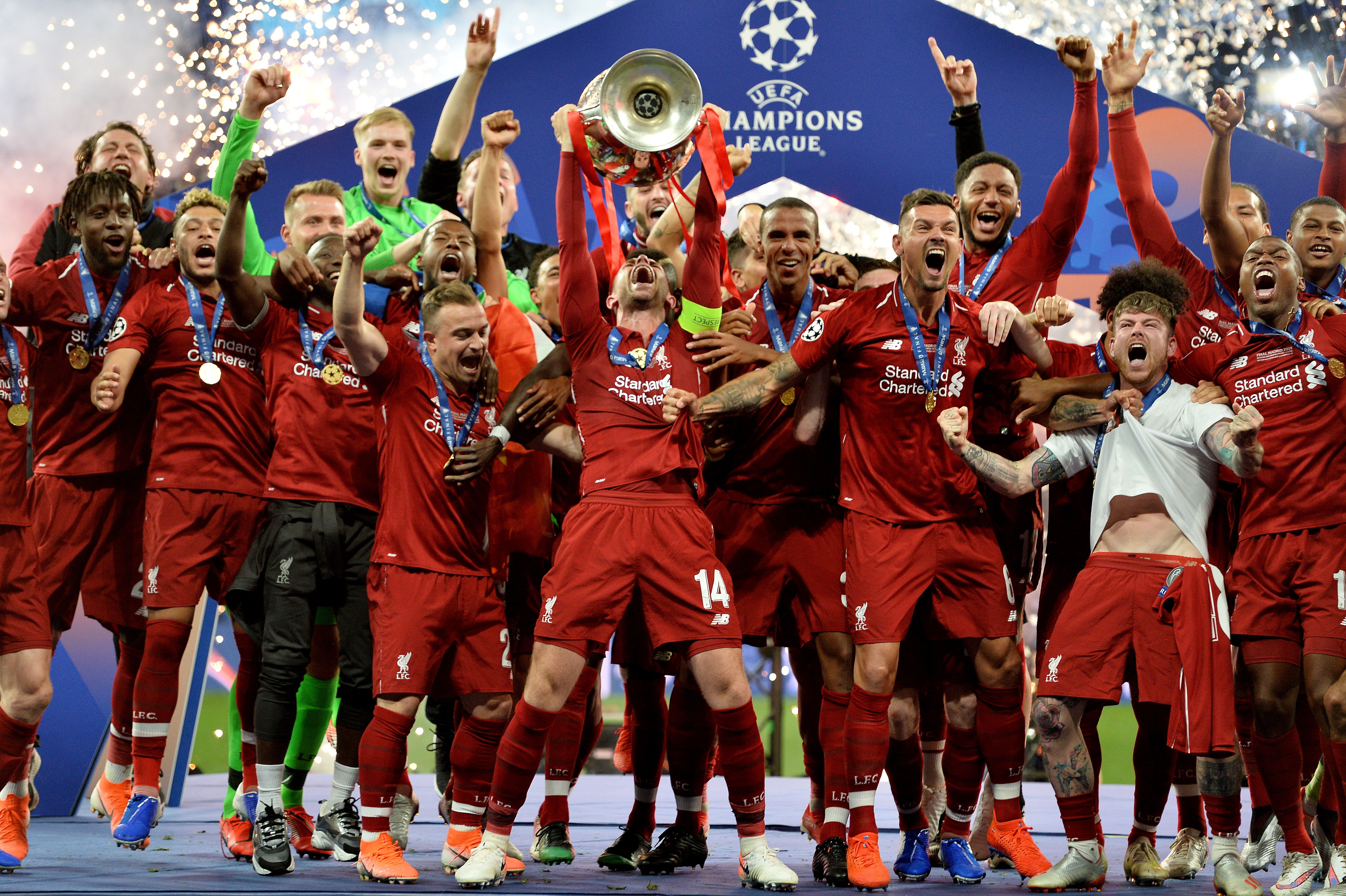 Champions League: El Liverpool reconquista Europa