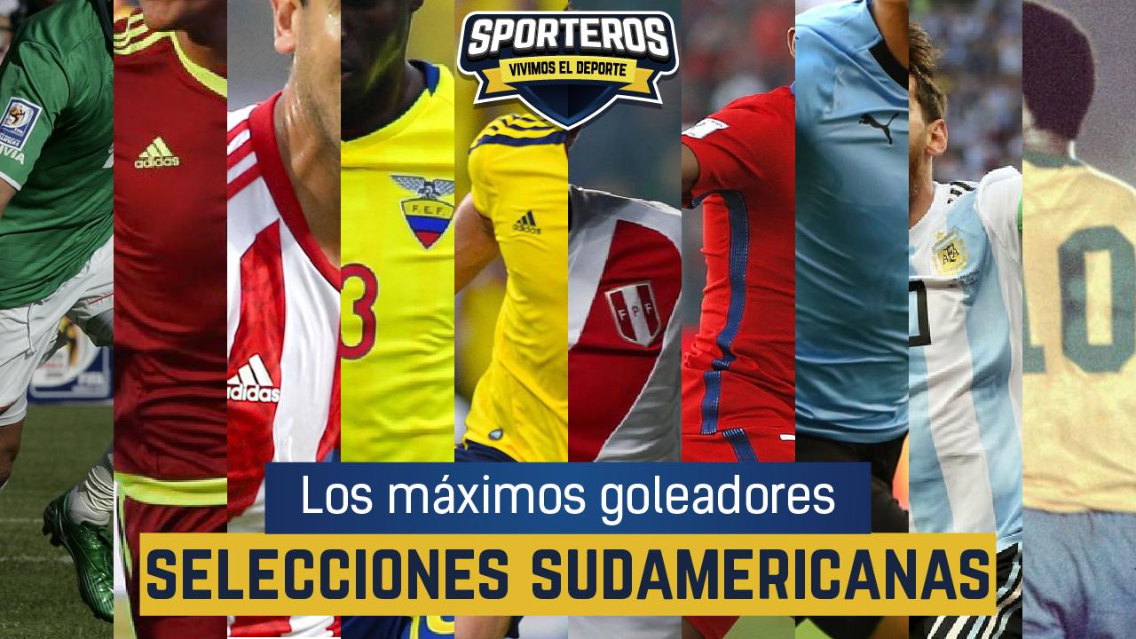 VIDEO: Los máximos goleadores ⚽🔝 de selecciones sudamericanas