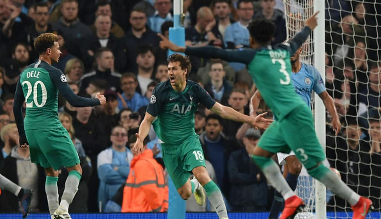 Champions League: Tottenham deja al Manchester City en el camino y avanza a 'semis'