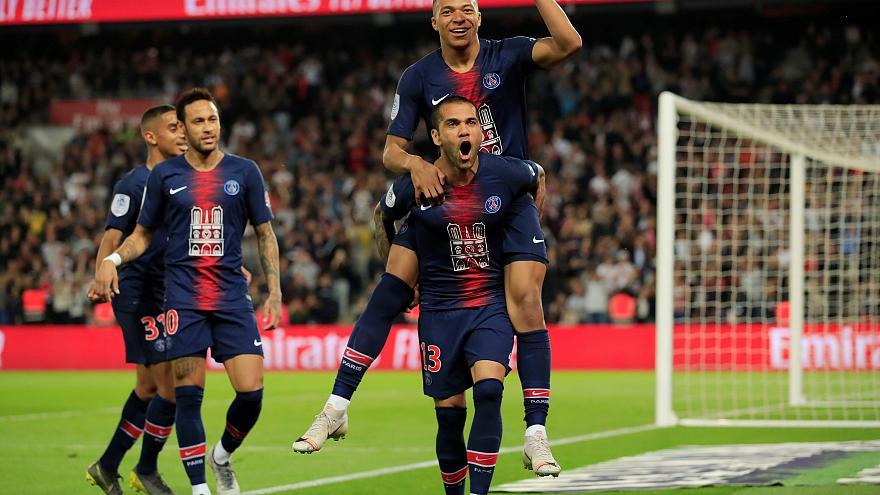 Ligue 1: PSG se coronó campeón del fútbol francés con triunfo