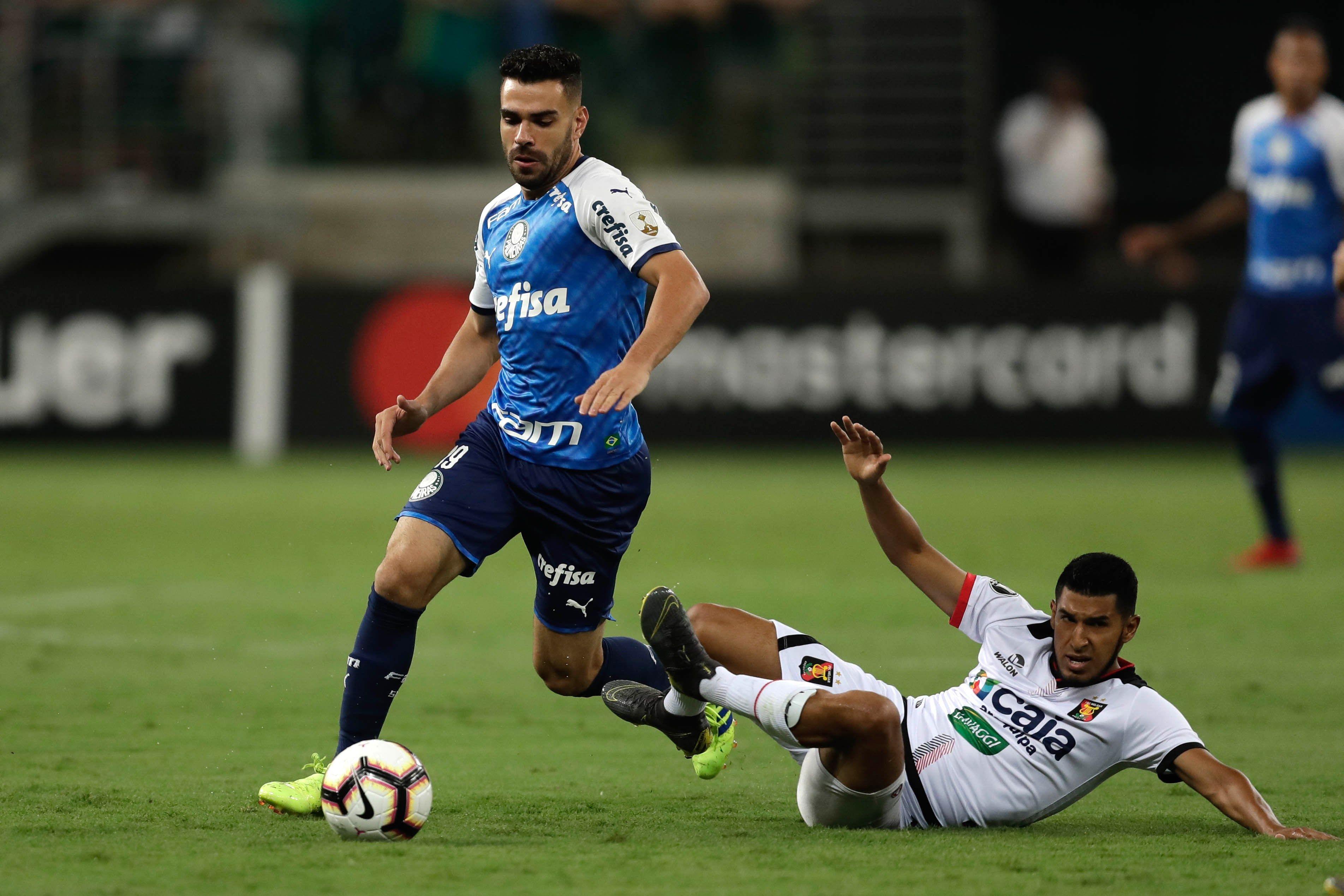 Libertadores: Palmeiras goleó 3-0 a Melgar