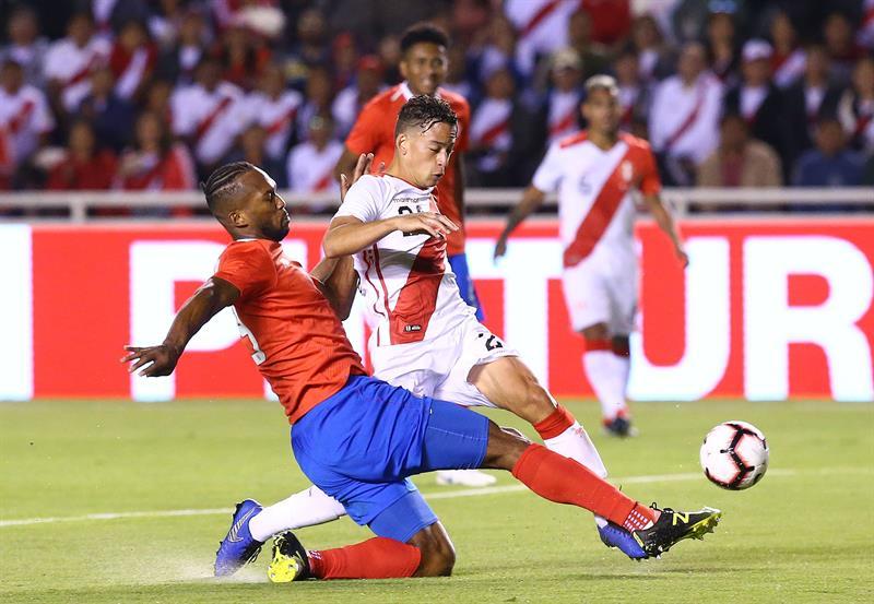 Selección: Perú cerró el año con derrota ante Costa Rica en Arequipa