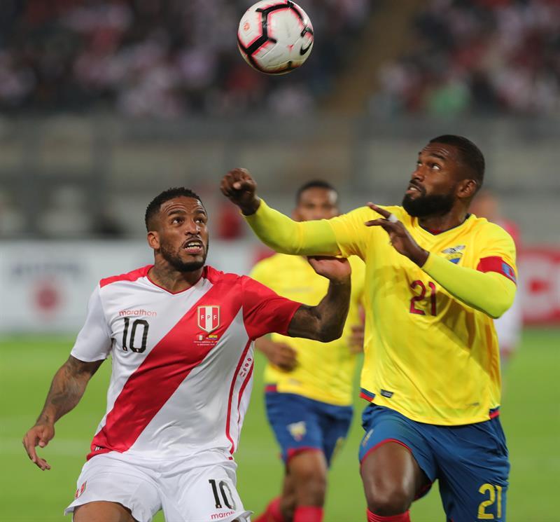 Amistoso: Perú cayó 2-0 ante un Ecuador en el Estadio Nacional
