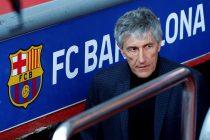 Presentación de Quique Setién como nuevo entrenador del FC Barcelona