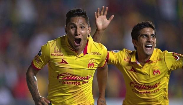 Raúl Ruidíaz anotó en triunfo del Monarcas Morelia