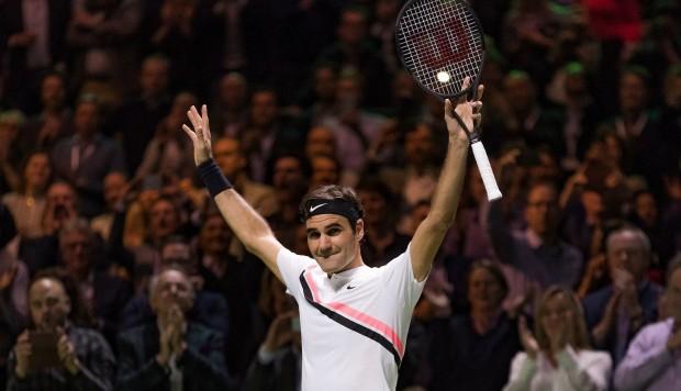Roger Federer ganó el Abierto de Rotterdam