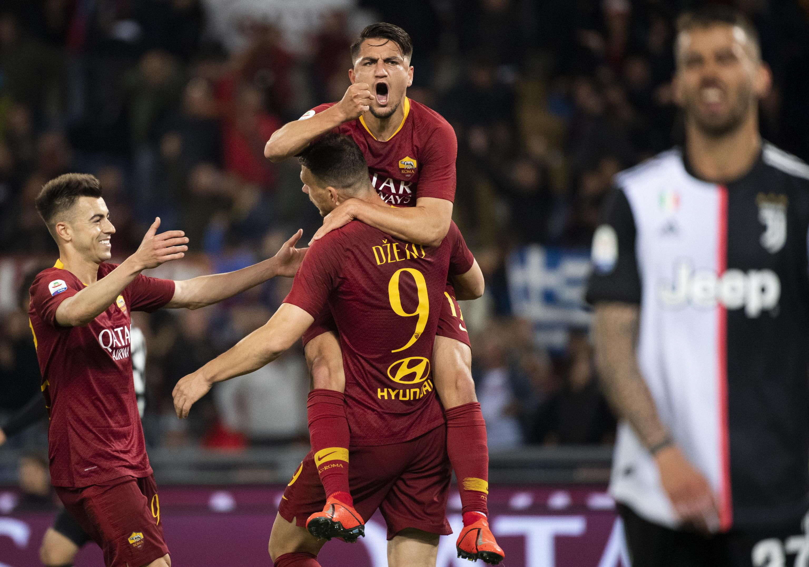 Serie A: Juventus cae ante la Roma