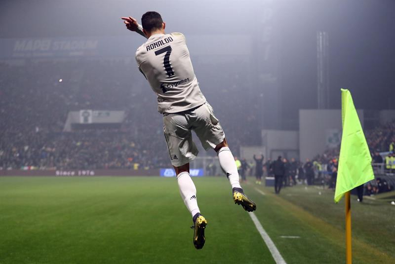 Serie A: Juventus vuelve al triunfo de la mano de Cristiano