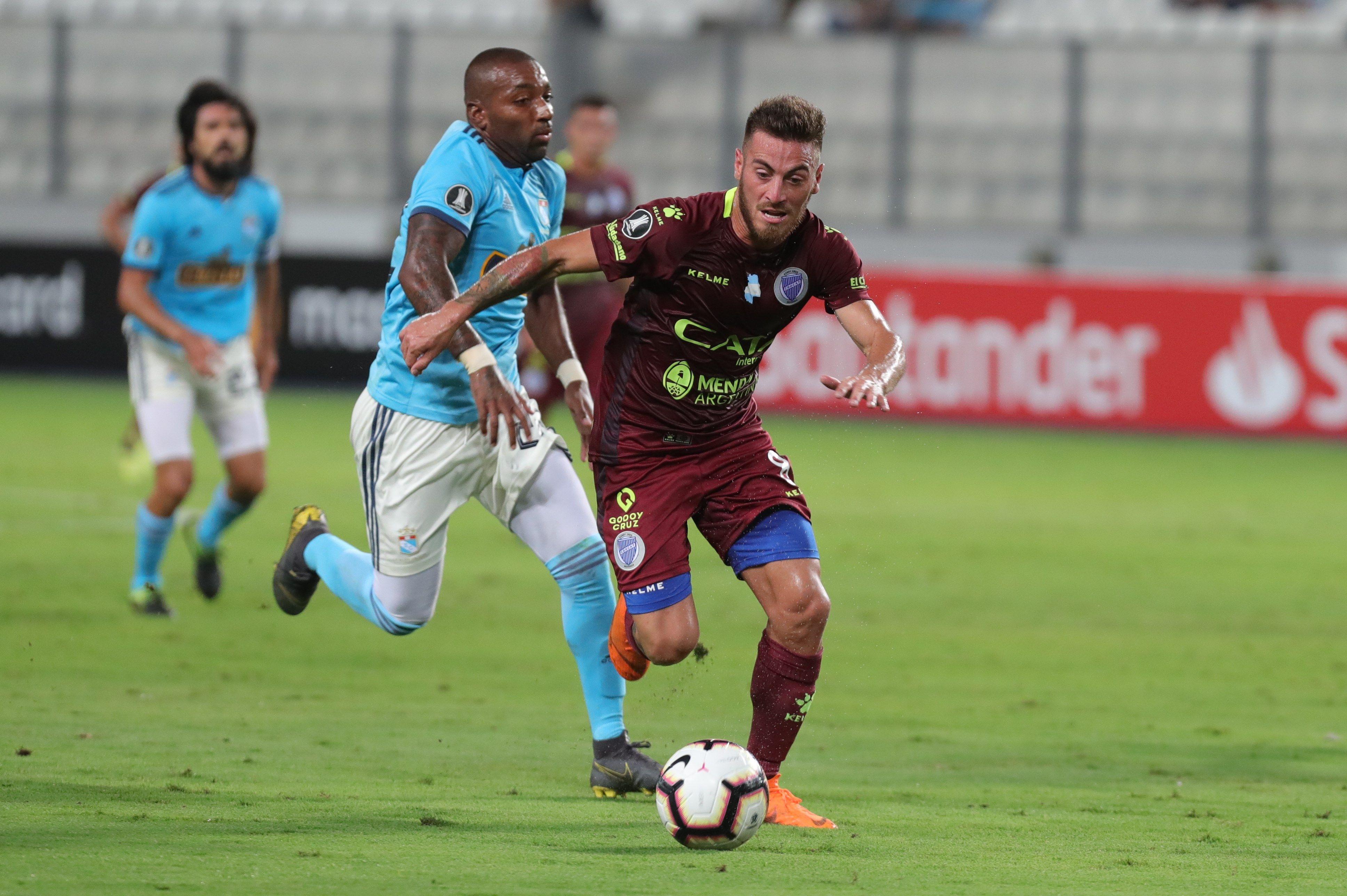 Libertadores: Sporting Cristal igualó con Godoy Cruz