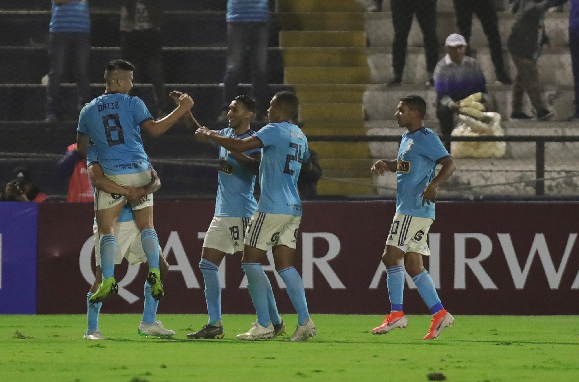 Sudamericana: Sporting Cristal le repite la dosis a Unión Española y avanza a octavos
