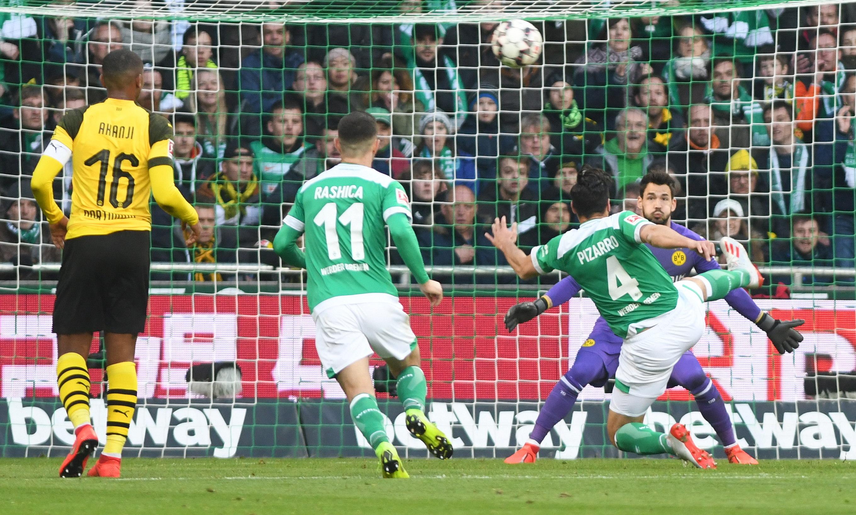 Bundesliga: Borussia Dortmund empata ante el Werder Bremen y deja el título casi servido al Bayern Munich