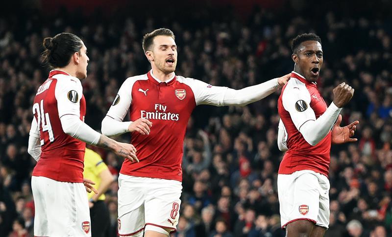Europa League: Arsenal sacó al Milan del camino al título