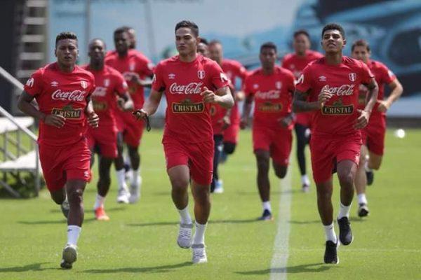 Perú inició sus entrenamientos de cara a Rusia 2018.