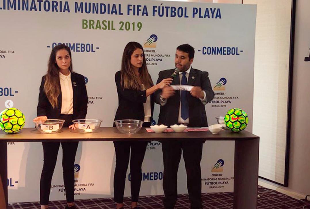 Fútbol Playa: Se sortearon los grupos para eliminatorias al mundial