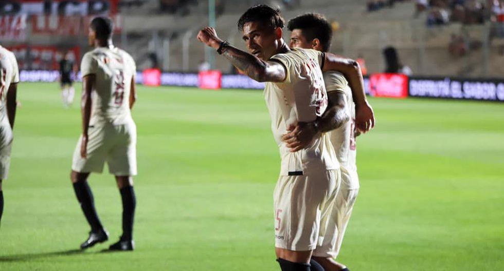 Universitario derrotó por 2-1 a Huracán en amistoso